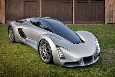 Blade là chiếc siêu xe với phần khung xe và nội thất được tạo nên bằng công nghệ in 3D
