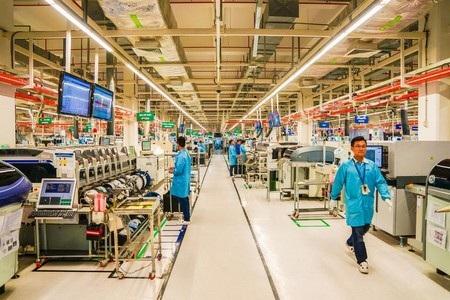 Bên trong nhà máy Jabil tại Thành phố Hồ Chí Minh