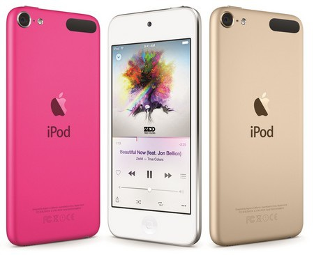 iPod Touch thế hệ mới dựa trên phong cách thiết kế của iPhone 6