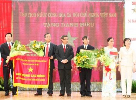 Bệnh viện Nhi Đồng 2 đón nhận danh hiệu Anh hùng Lao động - 1