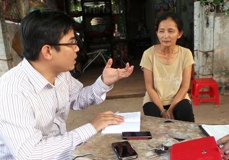 Bà Thanh Thúy trao đổi với Dân trí về đàn vịt mới bị tiêu hủy và các vấn đề liên quan