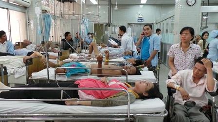 Chị Hồng Thắm lo lắng cho thai nhi mới 6 tháng tuổitrong bụng