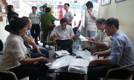 Cơ quan chức năng xử lý cơ sở hành nghề y trái phép tại quận Bình Thạnh