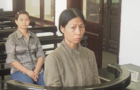 Bị cáo Nguyễn Thị Bích Mai