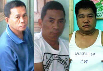 Bắt nhóm bạc bịp người Philippines