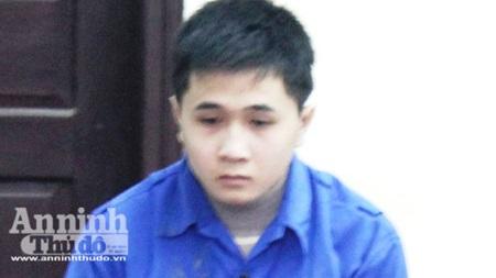 Bị cáo Quang tại phiên tòa
