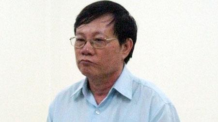 Nguyên TGĐ Tổng công ty Xây dựng thủy lợi 4 - Trần Đức Mậu tại phiên tòa