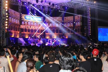 Đấu trường lớn của Rock Việt năm 2013 chính thức khởi động.