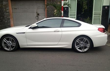 Xe ô tô BMW của chị Thúy
