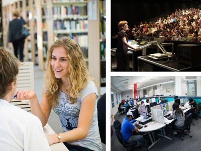 Đại học Monash luôn dẫn đầu về độ hấp dẫncủa các khóa học cũng như thu hút