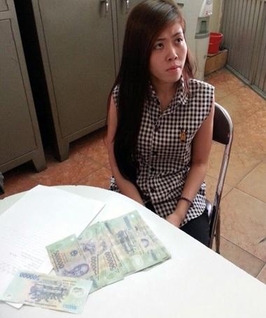 Tú bà Nguyễn Thị Ánh Thùy và tang vật