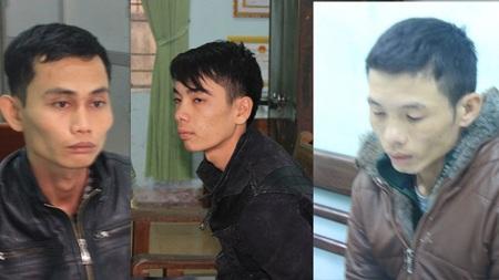 Những tên cướp trong băng nhóm do Minh cầm đầu