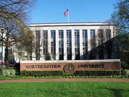 Đại học Northeastern được đánh giá là một trong những trường đại học có thứ hạng cao ở Hoa Kỳ: