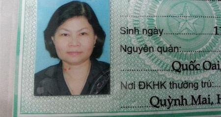 Cựu chủ tịch HĐQT Nguyễn Phương Mai