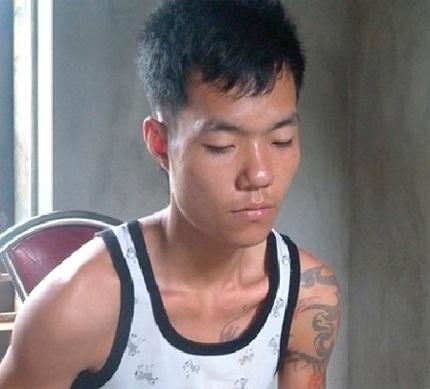 Đối tượng Phạm Văn Cường tại CQĐT. Ảnh: T.G