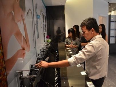 Thích thú trải nghiệm những thiết bị nhà tắm hiện đại