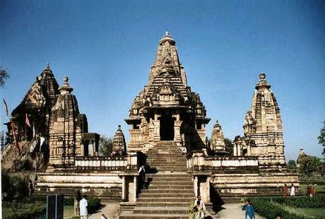 Hình ảnh đồ sộ tại khu đền Khajuraho