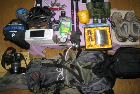 Những đồ vật nên chuẩn bị cho chuyến du lịch vùng núi.