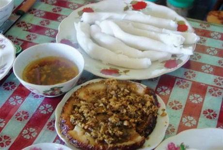 Từ lâu món bánh gật gù đã làm lên thương hiệu của mảnh đất Tiên Yên, Quảng Ninh.
