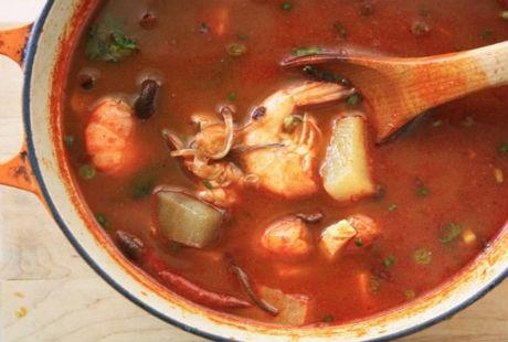 10. Canh mì sopa, nấm hương, Nhật Bản