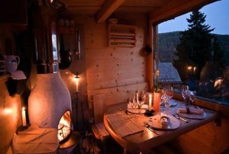 Nhà hàng Solo Per Due – Vacone, Ý
