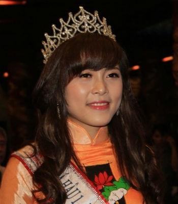 Người đẹp Lò Thị Minh- Á hậu 1 Hoa hậu các dân tộc Việt Nam