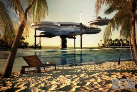 Khám phá khách sạn dưới biển lớn nhất thế giới
