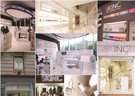 Khai trương SKINC - Quầy bar chăm sóc da đầu tiên trên thế giới