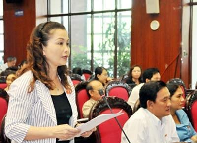 đại biểu Quốc hội Hồ Thị Thủy (Vĩnh Phúc)