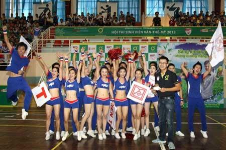 Cheerleading ĐH KiếnTrúc ĐN