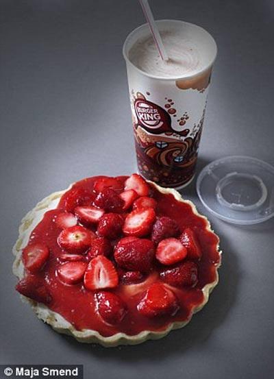 Lượng đường trong 1 cốc nước uống có ga này tương đương với 9 thanh bánh sô-cô-la sữa (79,5g đường)