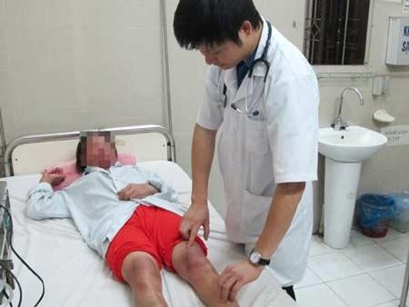Bệnh nhân bị dị ứng thuốc nam tại Trung tâm Dị ứng -