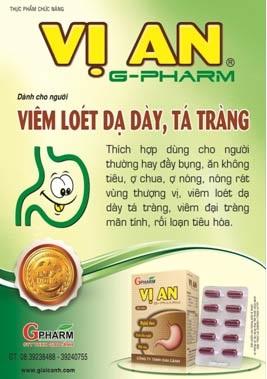 Vị an Pharm: Dành cho người viêm loét dạ dày – tá tràng