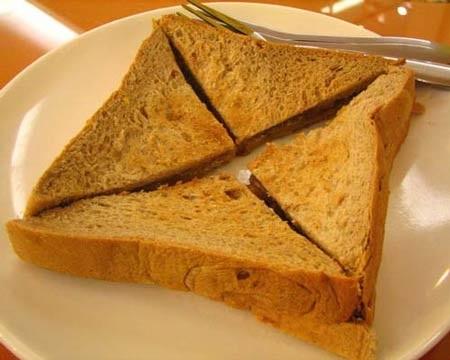 Bánh mỳ màu nâu được làm hoàn toàn từ lúa mỳ nguyên chất?