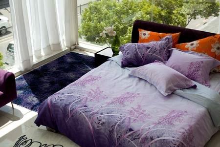 Bộ Drap giường trẻ trung dành cho những đôi uyên ương yêu thích sự năng động