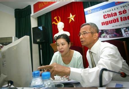 Ủyviên Trung ương Đảng, Chủ tịch Tổng Liên đoàn Lao động Việt Nam Đặng Ngọc Tùng