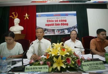 Ủy viên Trung ương Đảng, Chủ tịch Tổng Liên đoàn Lao động Việt Nam Đặng Ngọc Tùng