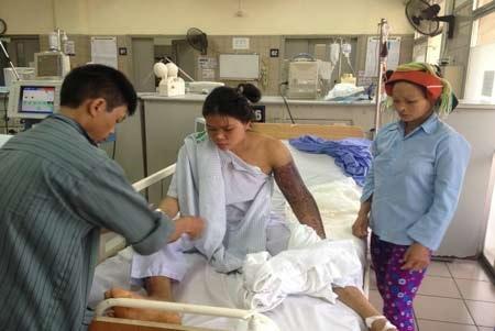 Sức khỏe bệnh nhân ổn định sau 12 ngày hồi sức chống độc.