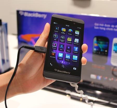 BlackBerry Z10 ở Việt Nam như thế nào?