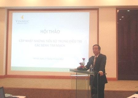 GS Liêm phát biểu tại lễ khai mạc hội nghị