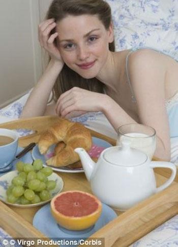 Muốn dễ thụ thai? Hãy ăn sáng!