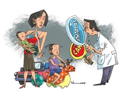 Thận trọng khi cho trẻ tiếp xúc nhựa dẻo