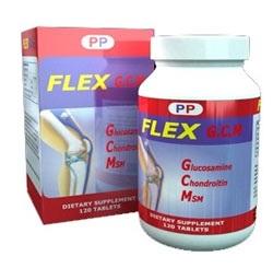 FLEX G.C.M là sản phẩm có chứa Glucosamine, Chondroitin