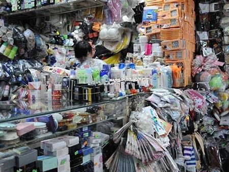 Một cửa hàng bán mỹ phẩm tại TPHCM Ảnh: Hồng Thúy