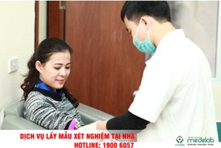 Miễn phí xét nghiệm mỡ máu và đường máu cho dịch vụ lấy mẫu tại nhà