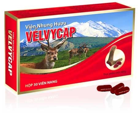 Velvycap được làm từ 100% nhung hươu NewZealand
