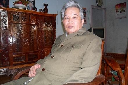 Cựu binh Nguyễn Văn Tiến, 61 tuổi, thị trấn Phước An, huyện Krông Pắk, tỉnh Đắk Lắk.