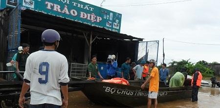 Do ảnh hưởng bởi cơn bão số 8, đến thời điểm này, tỉnh Đắk Lắk đã có 7 người chết do mưa lũ.