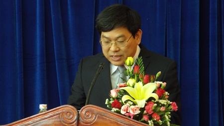 Ông Nguyễn Duy Bắc phát biểu tại phiên họp.