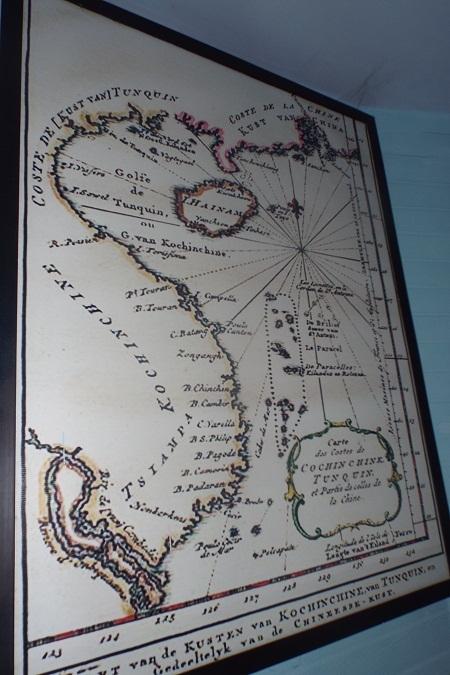 """""""Bản đồ Biển Đông do người Hà Lan vẽ năm 1754"""""""